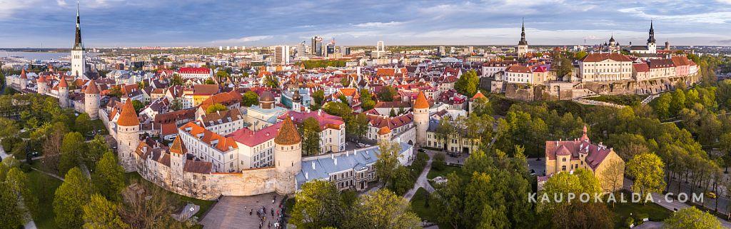 Õhtune Tallinna vanalinn